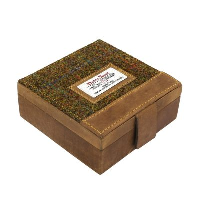 Stornoway Harris Tweed Trinket Box