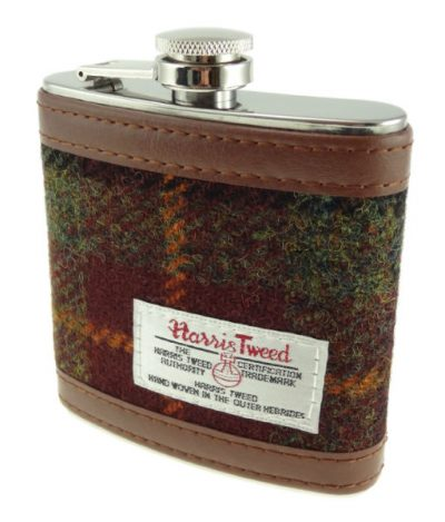 Harris Tweed Hip Flask Colour 59