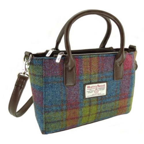 Brora Small Harris Tweed Tote Bag.