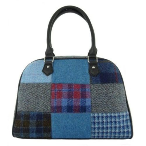 Nairn Harris Tweed Patchwork Bags